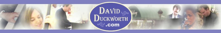 David Duckworth, Savannah Musician & Producer